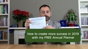 Start 2019 with my FREE Annual Planner