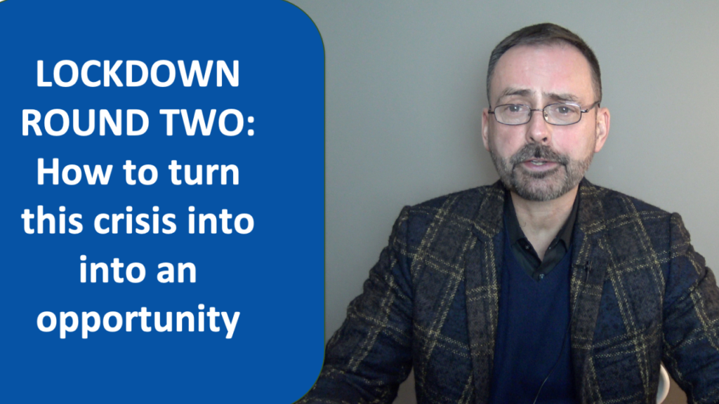 lockdown tips from London life coach Hans Schumann